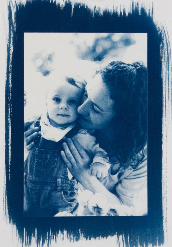 Cyanotypie Portrait Familie c lisalux 1