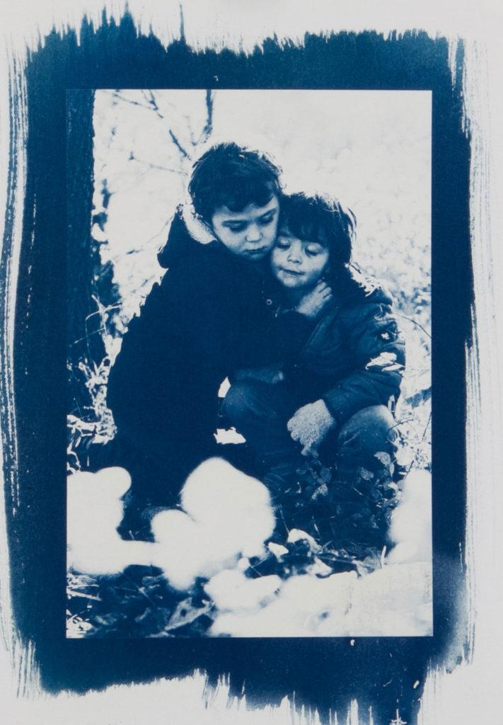 Cyanotypie Portrait Kinder c lisalux 2