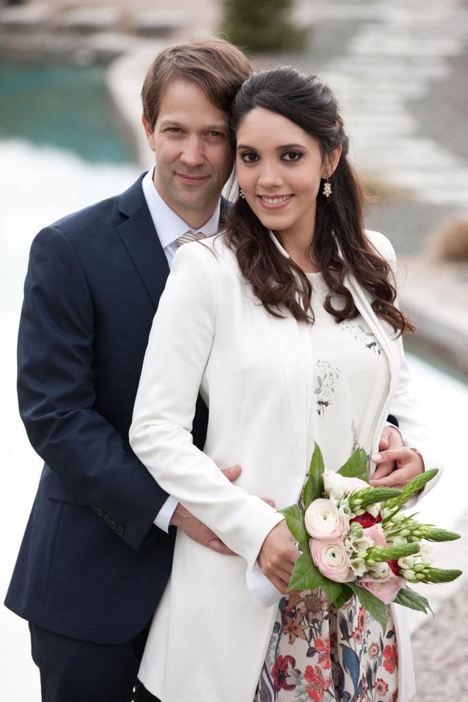 Hochzeit- Brautpaar ©lisalux