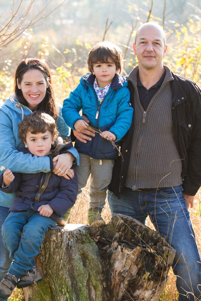 Familien-Portrait - Wald ©lisalux